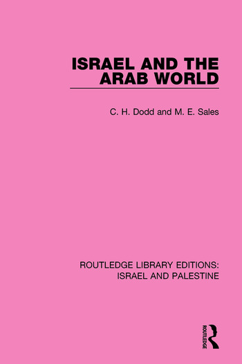Israel and the Arab World book cover