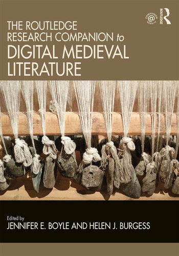 The Routledge Research Companion to Digital Medieval Literature book cover