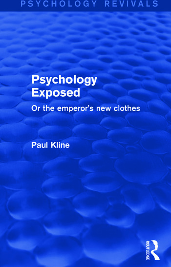 Psychology Exposed Or the Emperor's New Clothes book cover