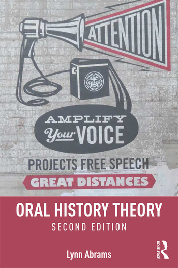 Oral History Theory book cover