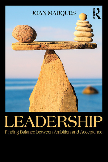Leadership Finding balance between ambition and acceptance book cover