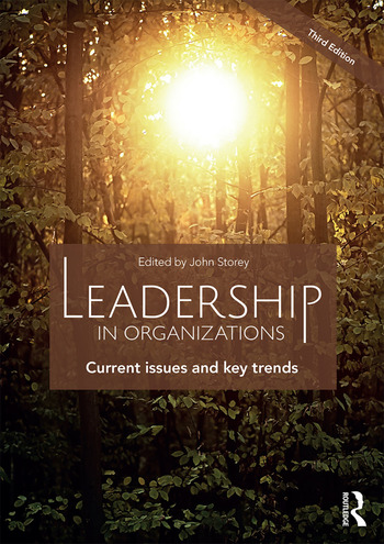 Leadership in Organizations Current Issues and Key Trends book cover