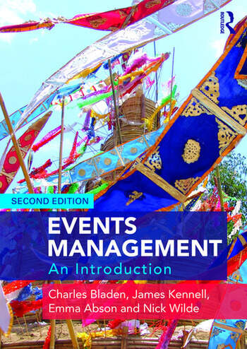 Events Management An Introduction book cover