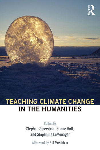 Teaching Climate Change in the Humanities book cover