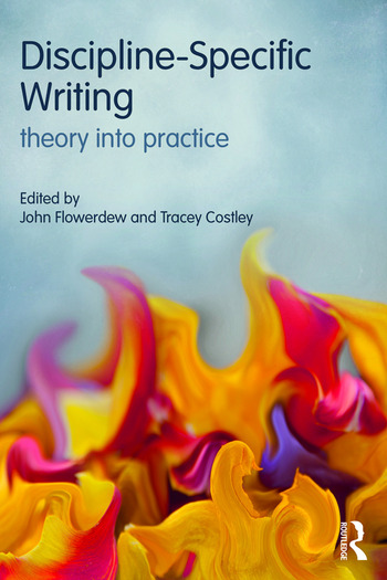 Discipline-Specific Writing Theory into practice book cover