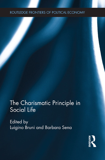 The Charismatic Principle in Social Life book cover
