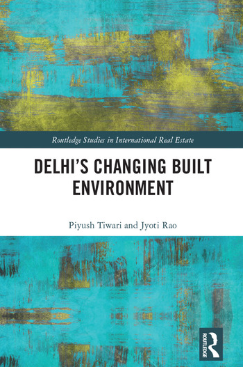 Delhi's Changing Built Environment book cover