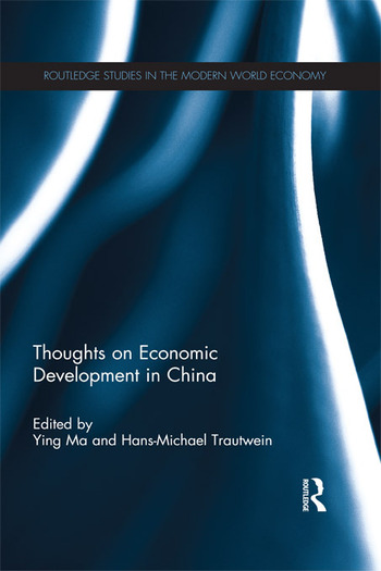 Thoughts on Economic Development in China book cover