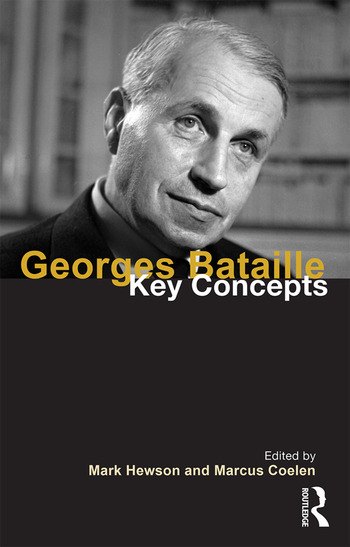 Georges Bataille Key Concepts book cover