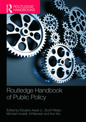 Routledge Handbook of Public Policy book cover
