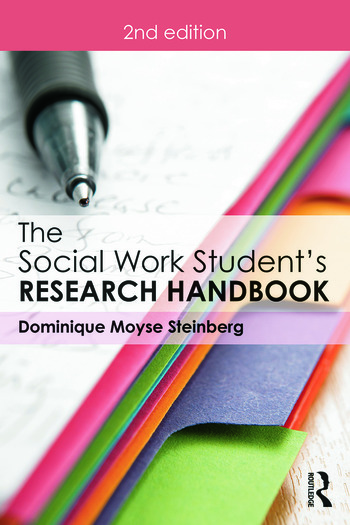 The Social Work Student's Research Handbook book cover