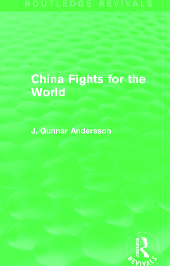 China Fights for the World (Routledge Revivals) book cover