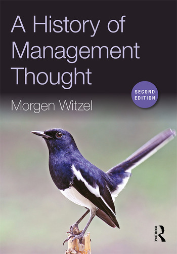 A History of Management Thought book cover