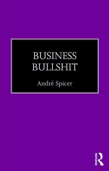Business Bullshit book cover