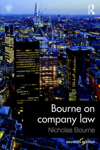 Bourne on Company Law book cover