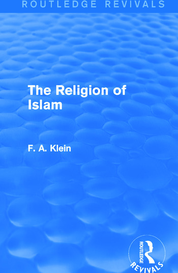The Religion of Islam (Routledge Revivals) book cover