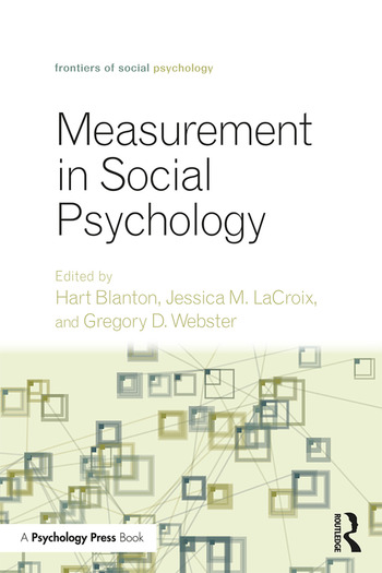Measurement in Social Psychology book cover