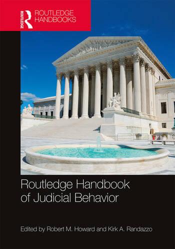 Routledge Handbook of Judicial Behavior book cover