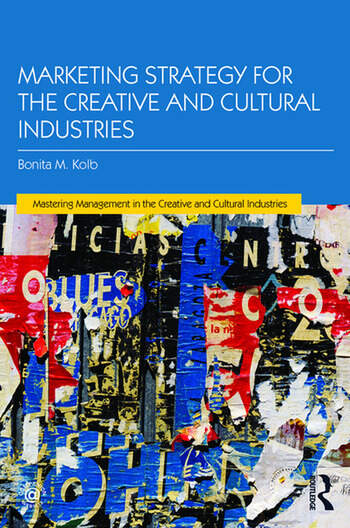 Marketing Strategy for Creative and Cultural Industries book cover