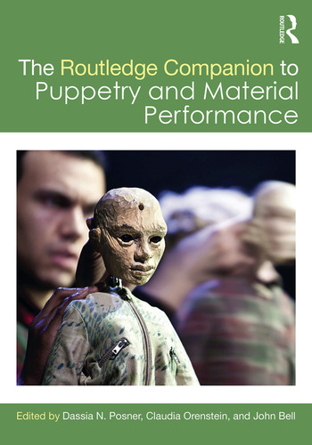 The Routledge Companion to Puppetry and Material Performance book cover