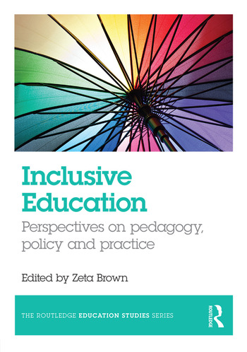 Inclusive Education Perspectives on pedagogy, policy and practice book cover