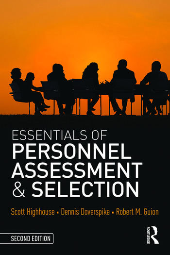 Essentials of Personnel Assessment and Selection book cover