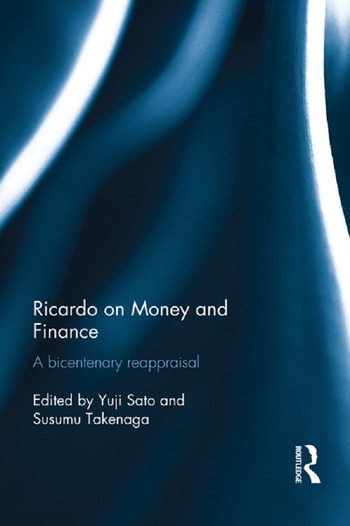 Ricardo on Money and Finance A Bicentenary Reappraisal book cover