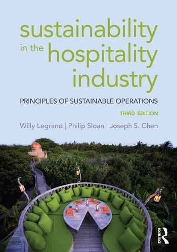 Sustainability in the Hospitality Industry Principles of sustainable operations book cover