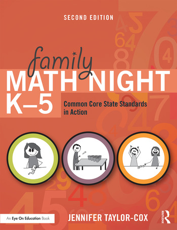 Family Math Night K-5 Common Core State Standards in Action book cover