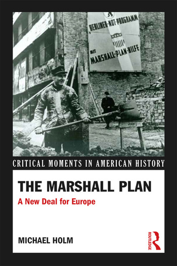 The Marshall Plan A New Deal For Europe book cover