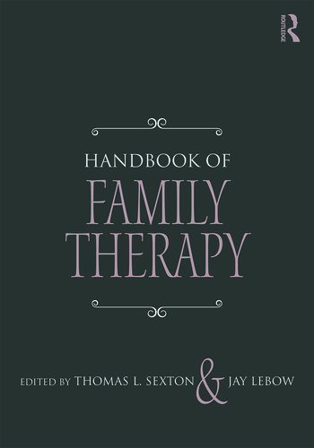 Handbook of Family Therapy The Science and Practice of Working with Families and Couples book cover