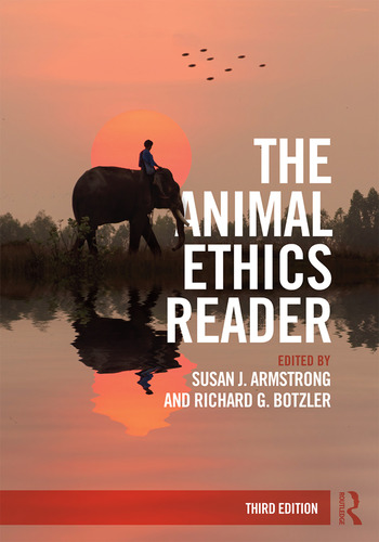 The Animal Ethics Reader book cover