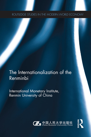 The Internationlization of the Renminbi book cover