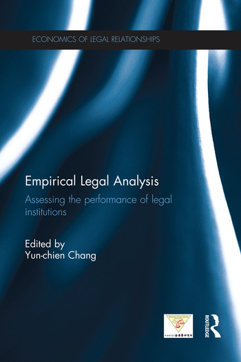 Empirical Legal Analysis Assessing the performance of legal institutions book cover