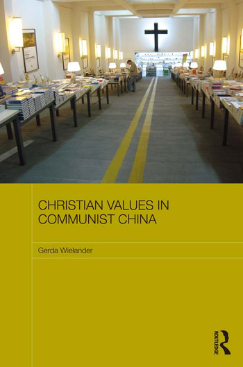 Christian Values in Communist China book cover