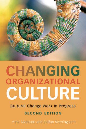 Changing Organizational Culture Cultural Change Work in Progress book cover