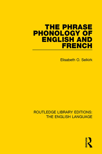 The Phrase Phonology of English and French book cover