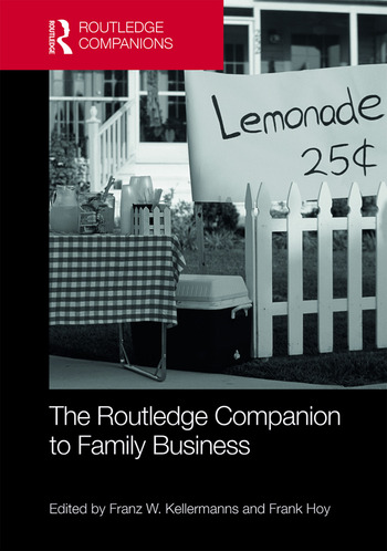 The Routledge Companion to Family Business book cover