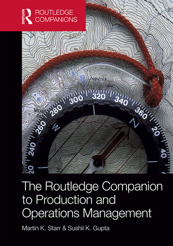 The Routledge Companion to Production and Operations Management book cover