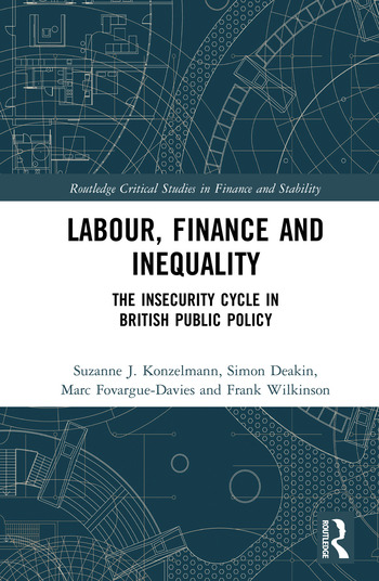 Labour, Finance and Inequality The Insecurity Cycle in British Public Policy book cover