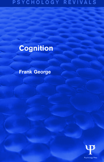 Cognition book cover