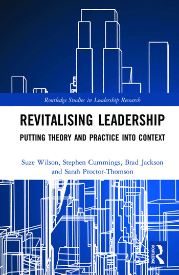 Revitalising Leadership Putting Theory and Practice into Context book cover