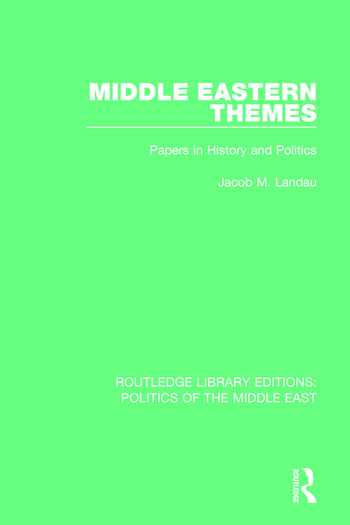 Middle Eastern Themes Papers in History and Politics book cover
