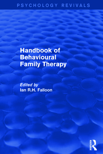 Handbook of Behavioural Family Therapy book cover
