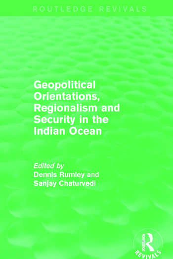 Geopolitical Orientations, Regionalism and Security in the Indian Ocean book cover