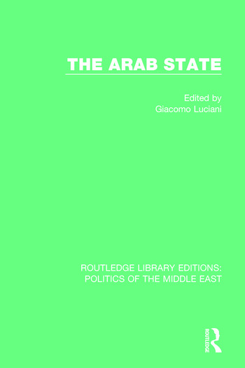 The Arab State book cover