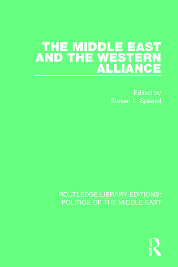 The Middle East and the Western Alliance book cover