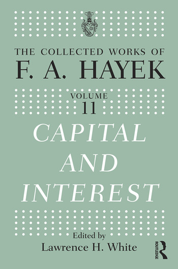 Capital and Interest book cover