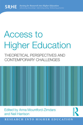 Access to Higher Education Theoretical perspectives and contemporary challenges book cover