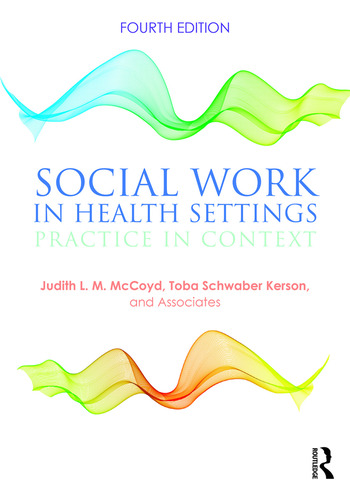 Social Work in Health Settings Practice in Context book cover